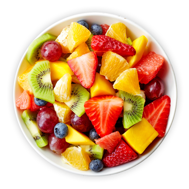 image of healthy fruit bowl