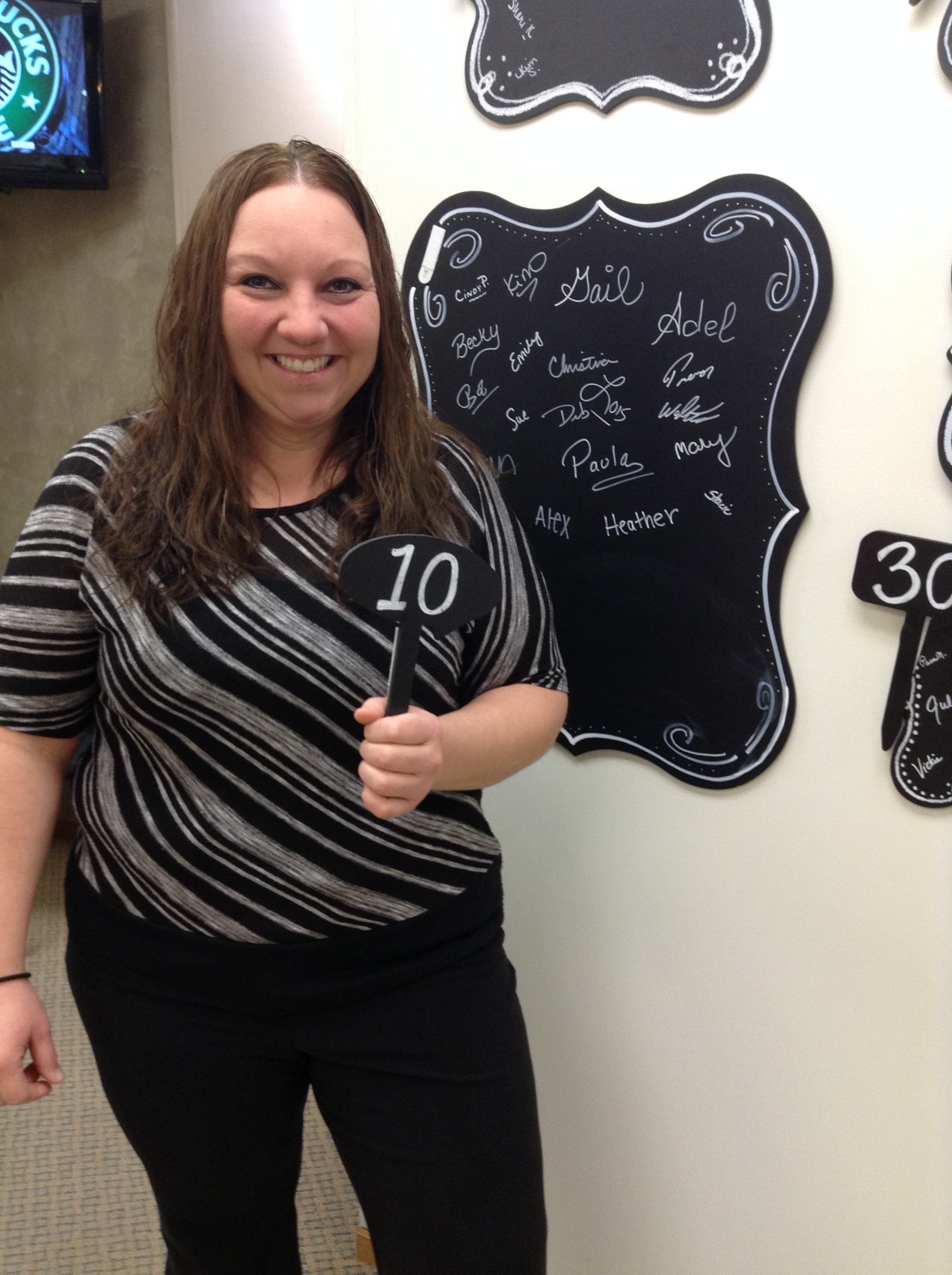 Heather S client of nu you down 10 pounds in her transformation