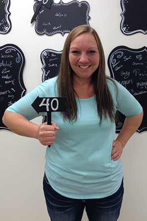 Heather S at 40 lbs gone with NuYou Weight Loss program.