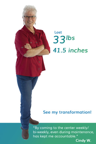 nuyou weight loss clinic client cindy wall transformation