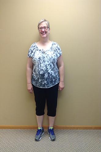 nuyou weightloss clinic client Pam Nelson before