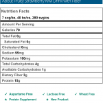 Strawberry Kiwi Fruit Drink with Fiber Nutritional Information.