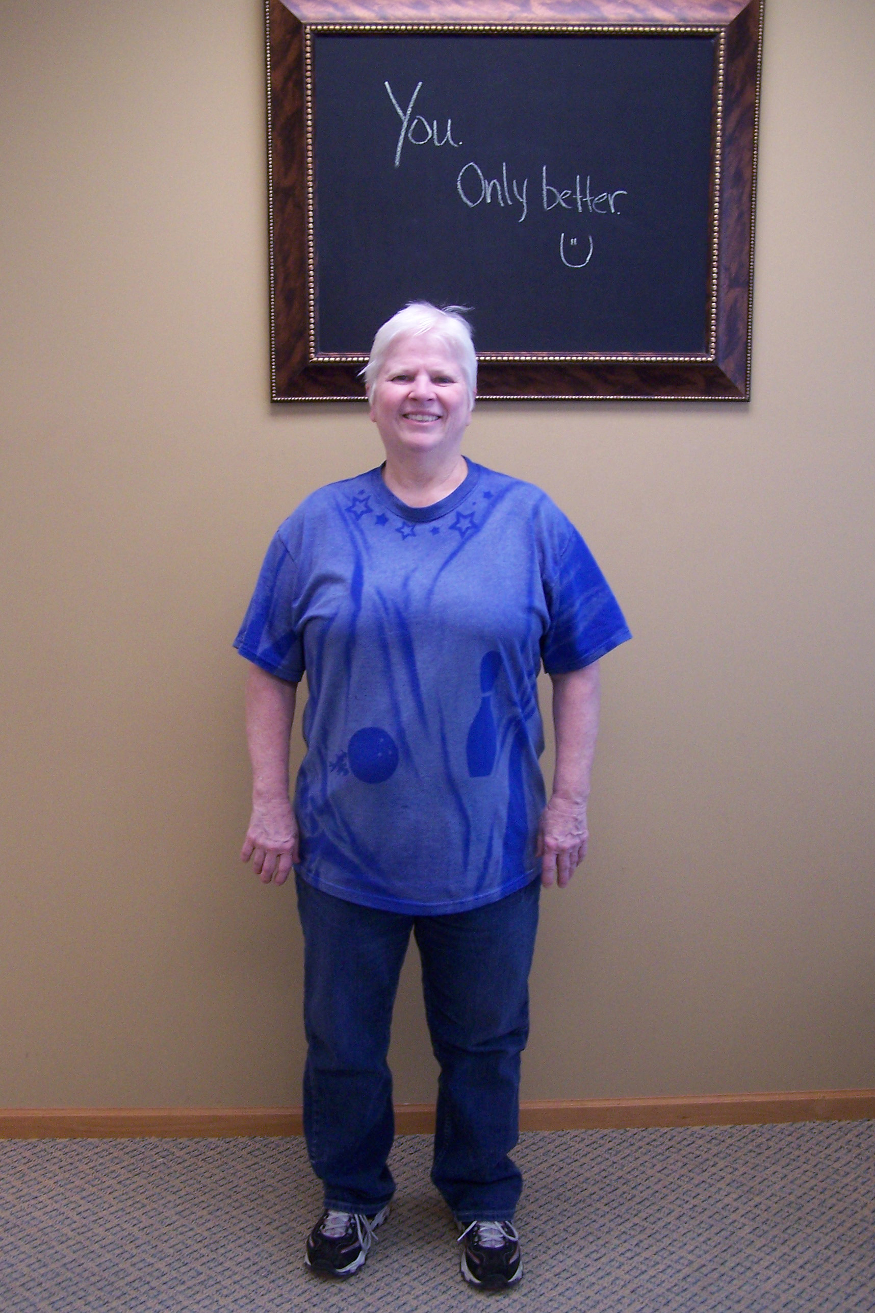 nuyou weight loss clinic client cindy wall before