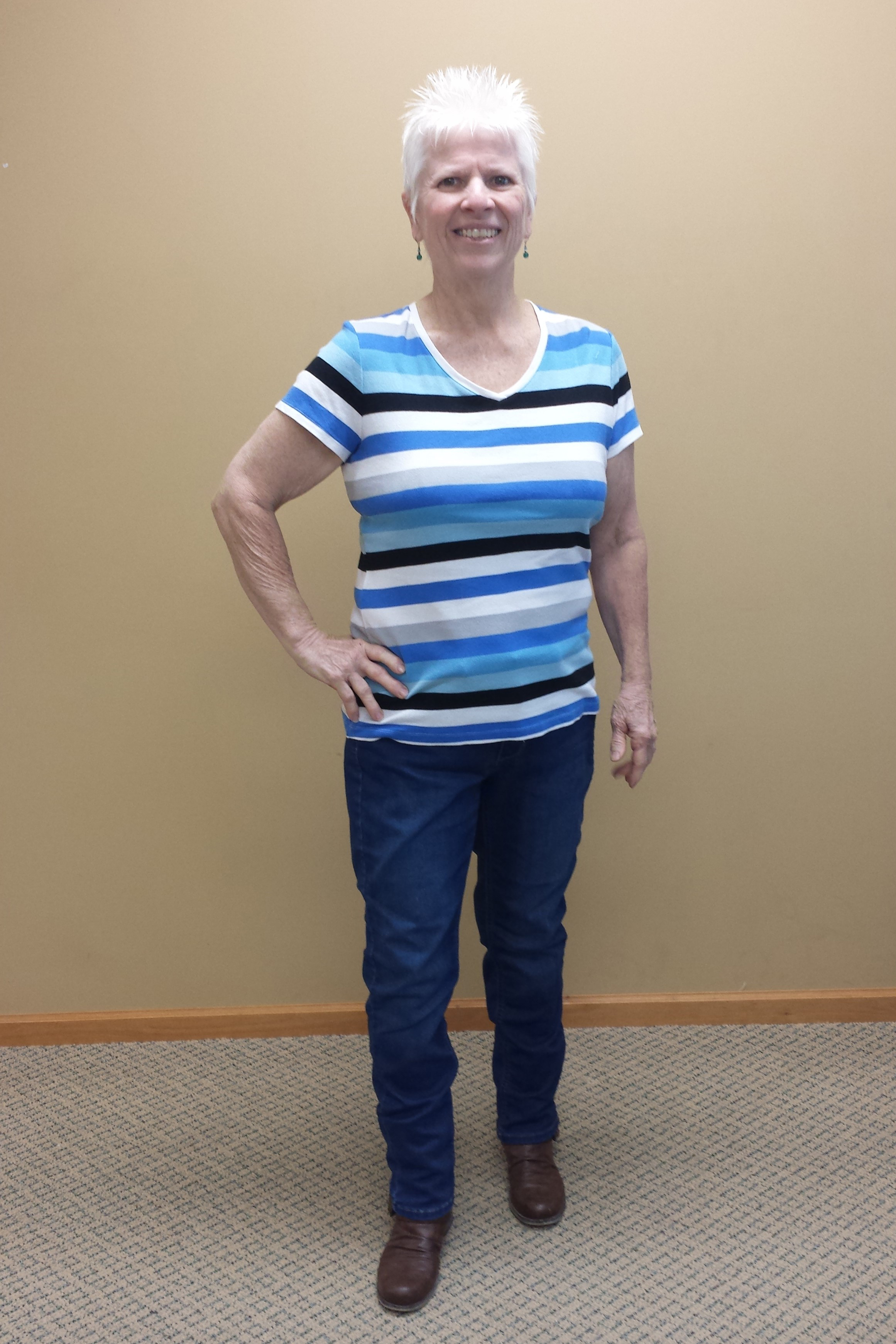 nuyou weight loss clinic client cindy wall after