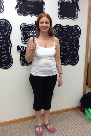 nuyou weight loss clinic transformation 20 pounds gone laurie t