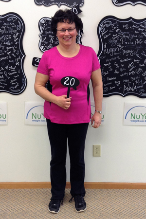 linda t nuyou weight loss clinic 20 pounds gone for good board