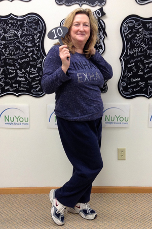 sue h nuyou weight loss clinic 10 pounds gone board