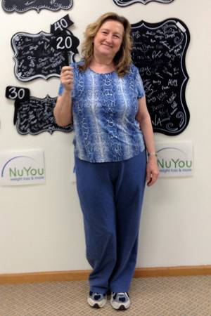 sue h nuyou weight loss clinic 20 pounds gone board