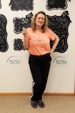 sue h nuyou weight loss clinic 30 pounds gone board