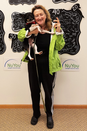 sue h nuyou weight loss clinic 40 pounds gone board
