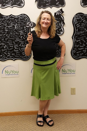 sue h nuyou weight loss clinic 50 pounds gone board