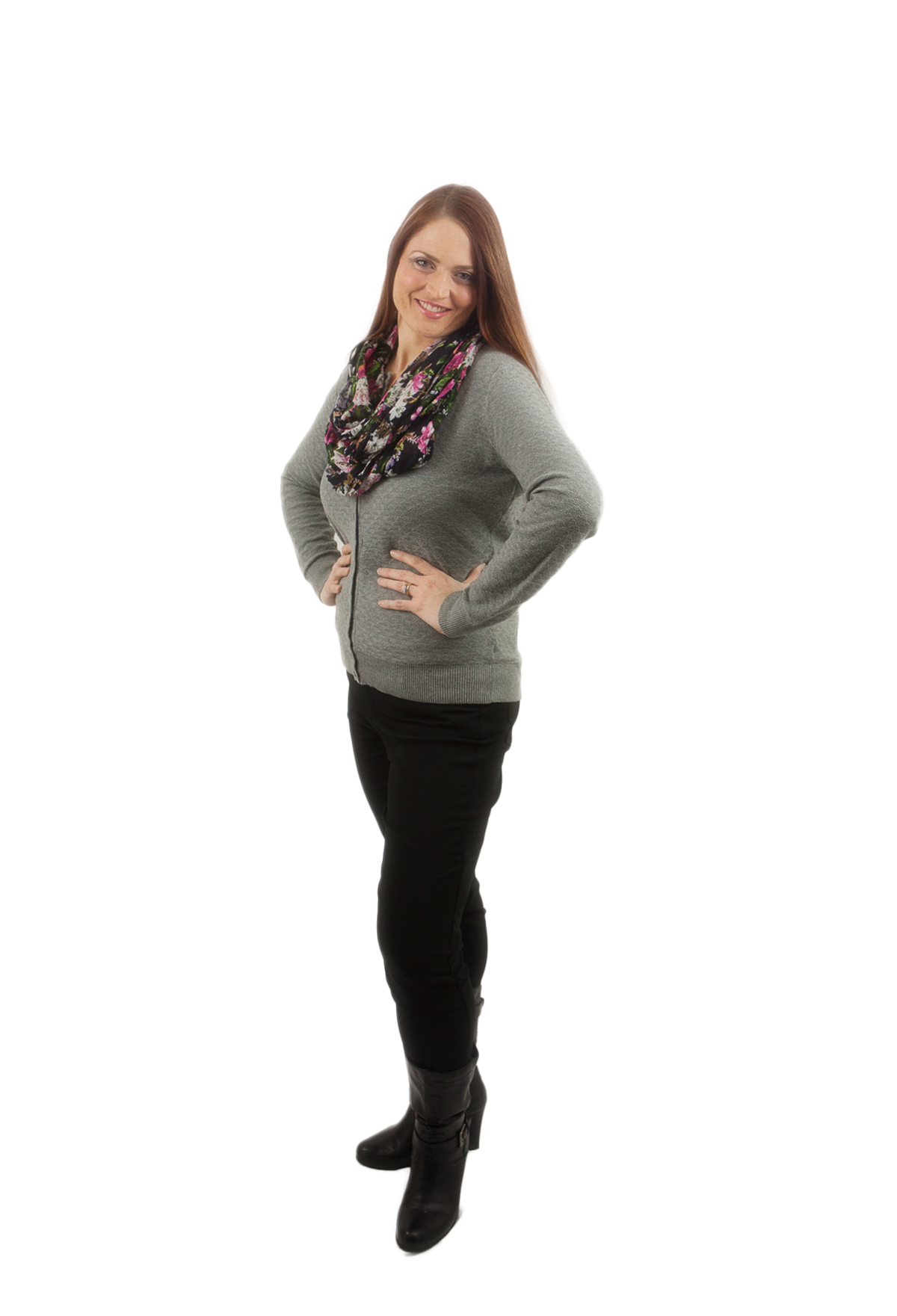 Picture of Leah Milde at her weight loss goal of 76 pounds gone for good.