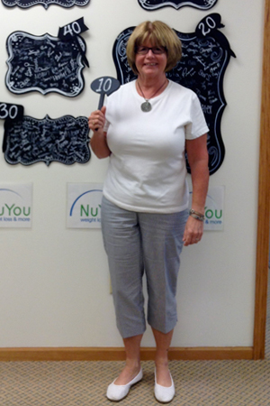 charlene j nu you weight loss clinic 10 pounds gone board