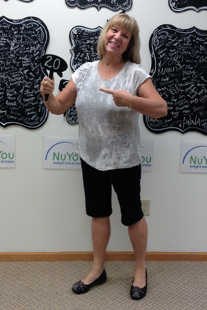 rosemary v nu you weight loss clinic 20 pounds gone board