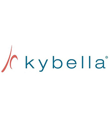 kybella logo and treatment area information at nuyou weightloss and wellness of onalaska