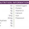 High Protein Apple Single Shot Nutritional Info.
