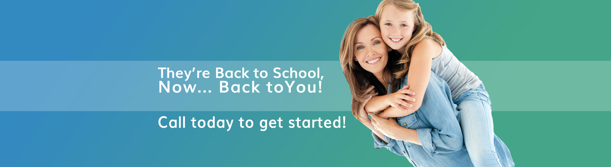The kids are back to school - now back to a nuYou - weight loss and medi spa services.