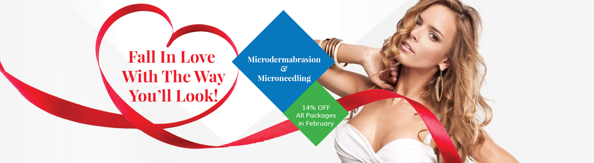 February Microdermabrasion and microneedling medi spa specials