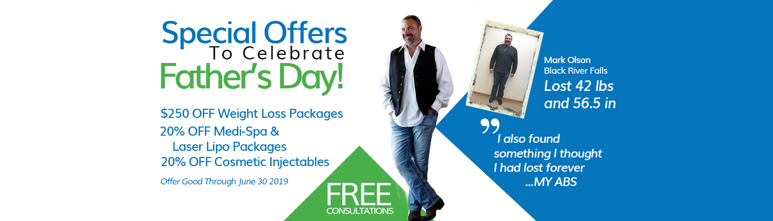 Celebrate Father's Day with Special Offers from NuYou in La Crosse/Onalaska WI